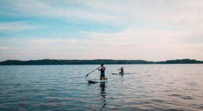 Kayaking vs Paddle Boarding